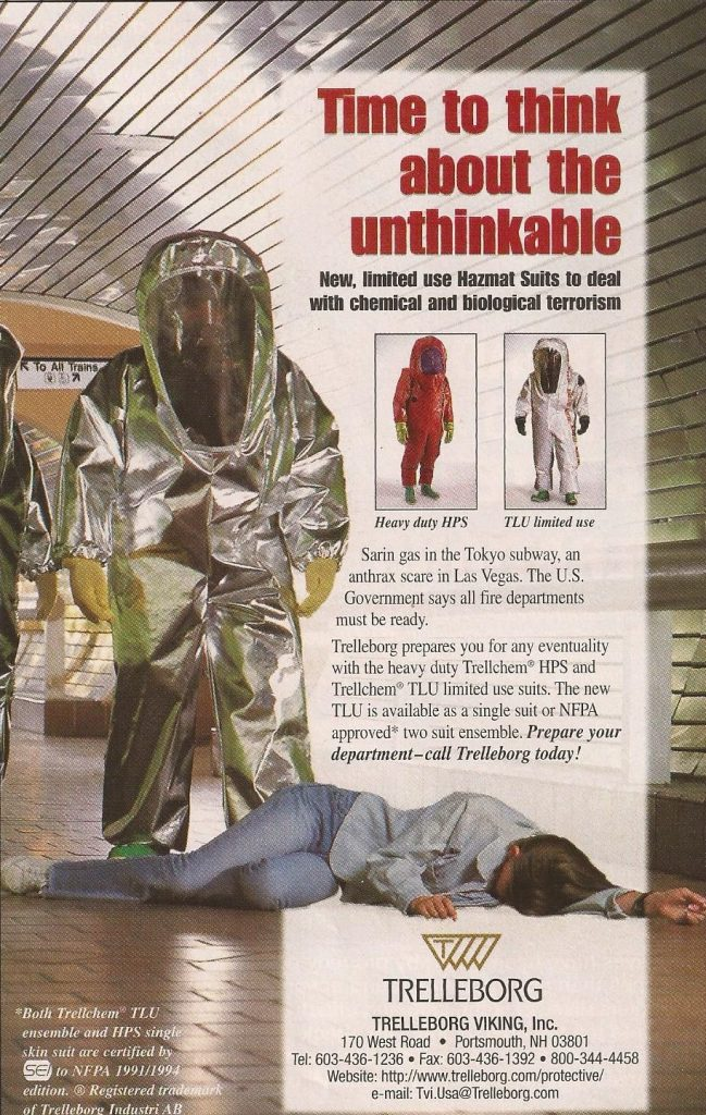 Swedish Hazmat Suits | Muir Marketing Solutions International