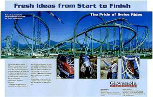 Swiss Roller Coasters